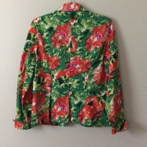 Live a Little Jackets & Coats - Live a Little floral blazer
